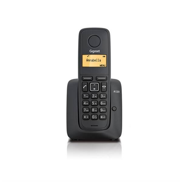 Domácí telefon Siemens Gigaset A120 (S30852-H2401-R601) černý (vrácené zboží 8800671360)