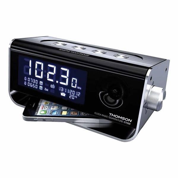 Radiobudík Thomson CT350 (8tct350) černý/stříbrný