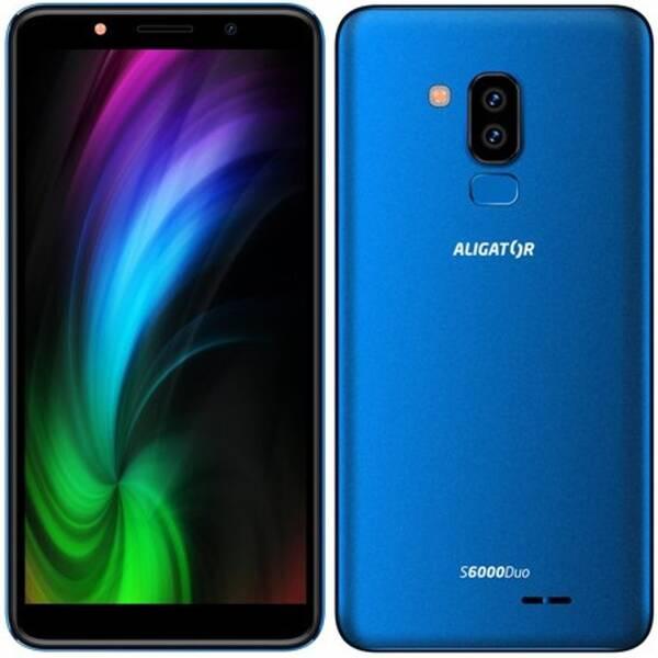 Mobilní telefon Aligator S6000 Dual SIM (AS6000BE) modrý