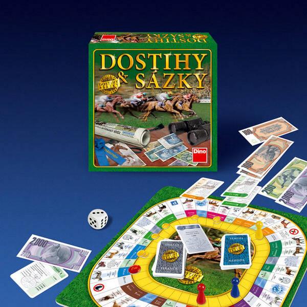 Společenská hra Dostihy a sázky (poškozený obal 3000001742)