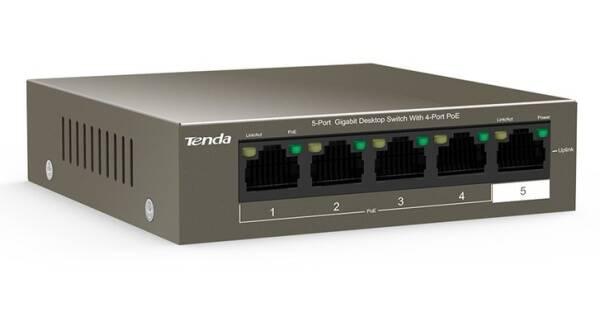 Switch Tenda TEG1105P černý