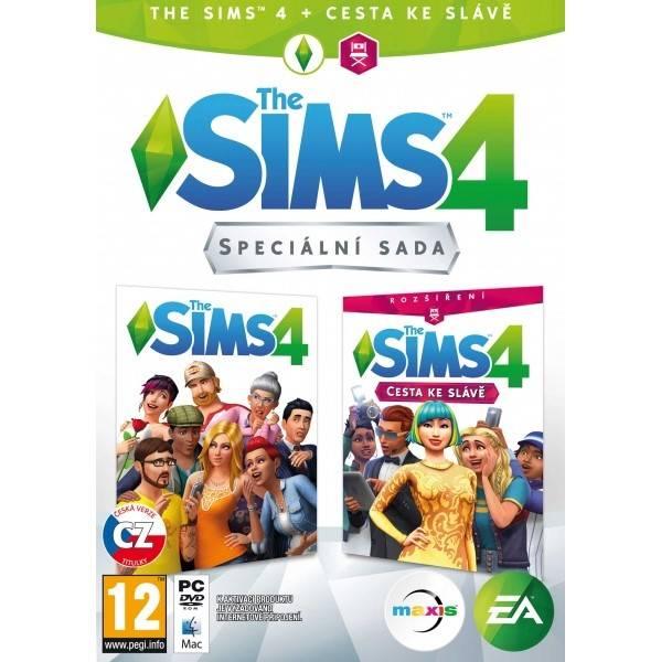 Hra EA PC The Sims 4 Základní hra + Cesta ke slávě (EAPC05164)