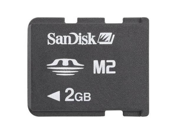 Pamäťová karta Sandisk Memory Stick Micro (M2) 2GB (55623) (55623) čierna