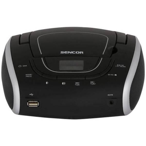 Radiopřijímač s CD Sencor SPT 1600 BS černý (vrácené zboží 8800220316)