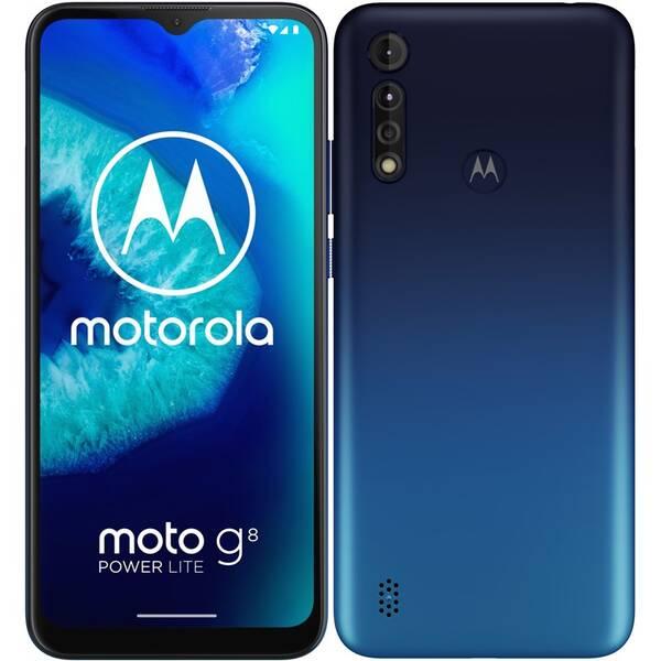 Mobilní telefon Motorola Moto G8 Power Lite - Royal Blue (PAJC0015PL)