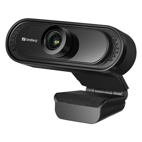 Webkamera Sandberg Webcam Saver 1080p (333-96) čierna
