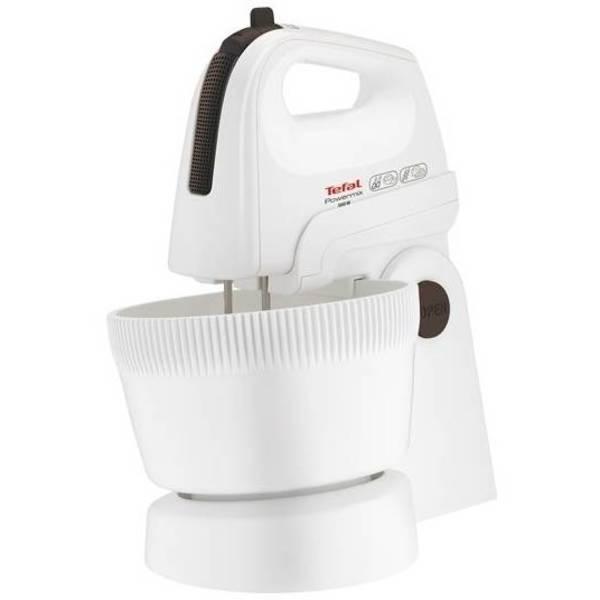 Ruční šlehač s mísou Tefal POWERMIX HT615138 bílý (vrácené zboží 8800228529)