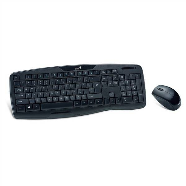 Klávesnice s myší Genius KB-8000X, CZ/SK (31340005106) černá