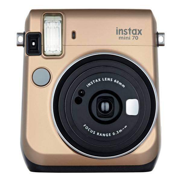 Digitálny fotoaparát Fujifilm Instax mini 70 zlatý