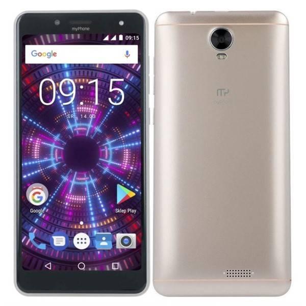 Mobilní telefon myPhone FUN 18x9 (TELMYAFUN189GO) zlatý (vrácené zboží 8800327503)