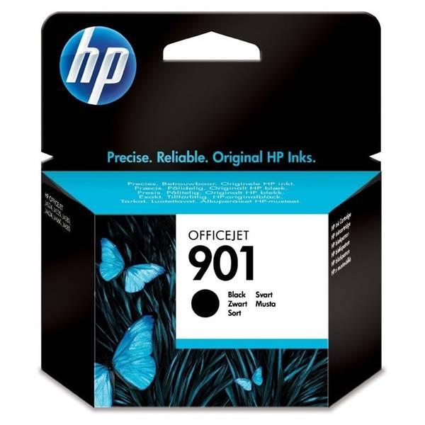 Inkoustová náplň HP No. 901, 4 ml, 200 stran - originální (CC653AE) černá