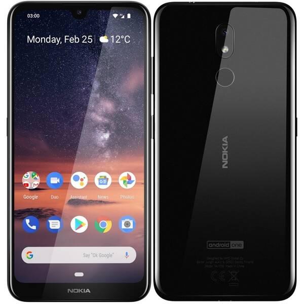 Mobilní telefon Nokia 3.2 (719901071451) černý (vrácené zboží 8800299233)