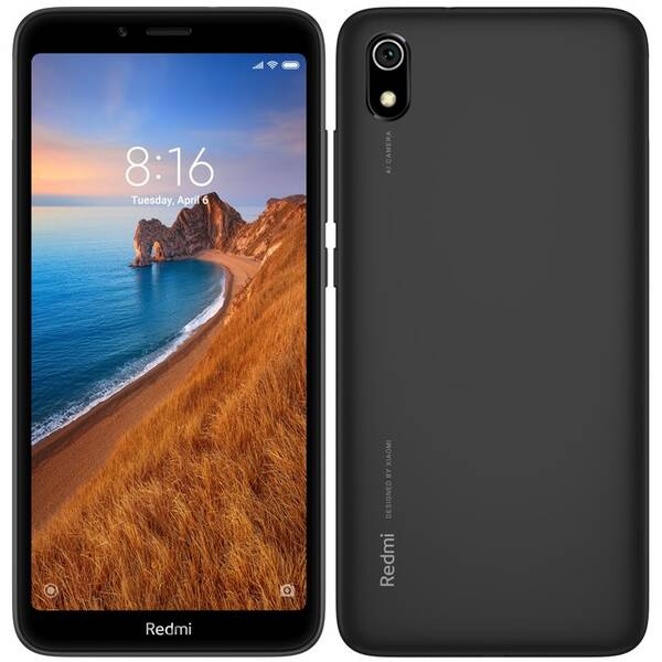 Mobilný telefón Xiaomi Redmi 7A 32 GB Dual SIM - matně černý (23673)