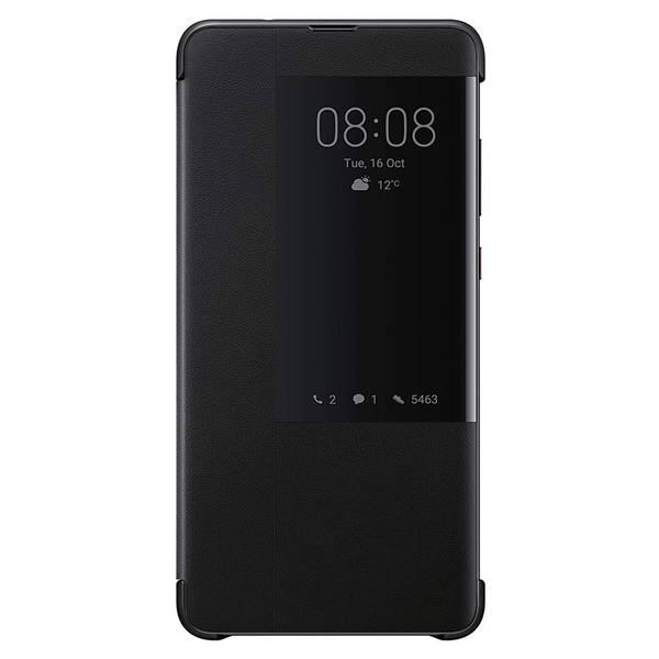 Pouzdro na mobil flipové Huawei View Cover pro Mate 20 (51992621) černé (vrácené zboží 8800327352)