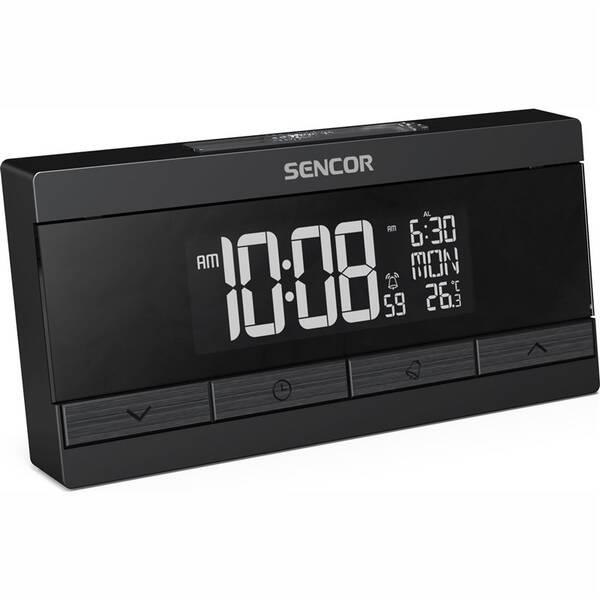 Budík Sencor SDC 7200 černý