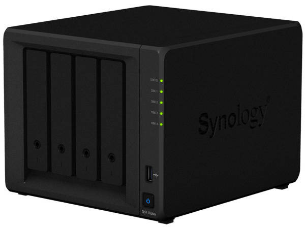 Datové uložiště (NAS) Synology DS418play (DS418play) černé