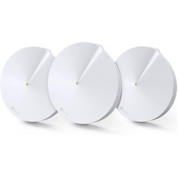 Komplexní Wi-Fi systém TP-Link Deco M9 Plus (3-pack) + IP TV na 3 měsíce ZDARMA (Deco M9 Plus(3-pack)) bílý