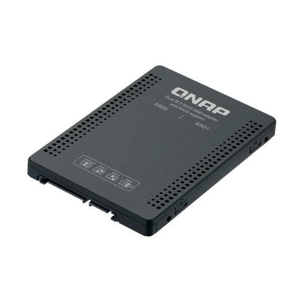 Adaptér QNAP QDA-A2MAR (2x M.2 SSD SATA sloty v 2,5'' SATA rámečku) (QDA-A2MAR)
