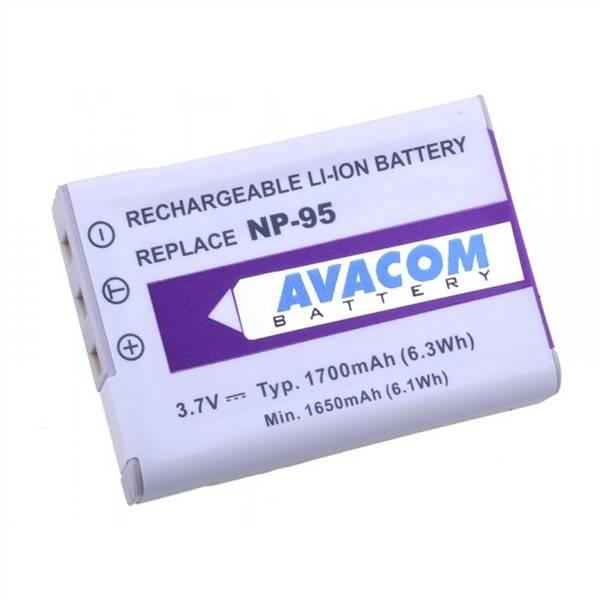 Baterie Avacom Fujifilm NP-95/Ricoh DB-90 Li-Ion 3,7V 1700mAh (DIFU-NP95-351)
