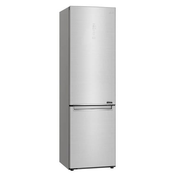 Kombinácia chladničky s mrazničkou LG GBB92STACP strieborná
