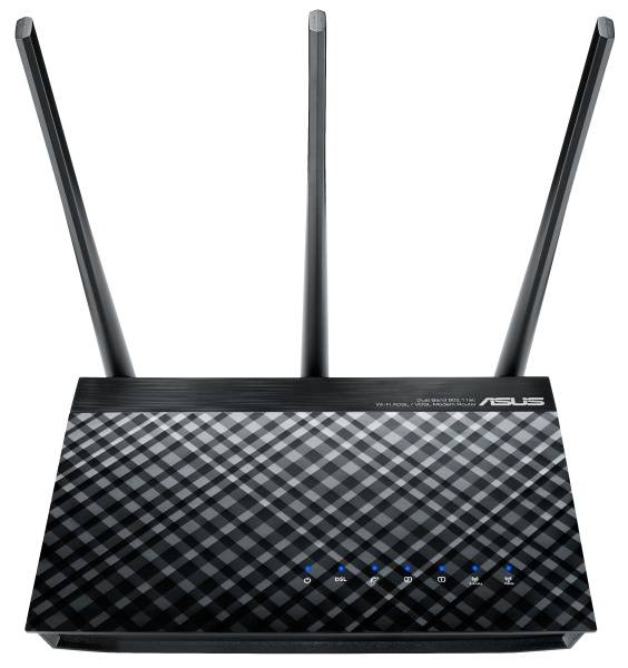 Router Asus DSL-AC51 - AC750 dvoupásmový ADSL/VDSL Wi-Fi Modem router (90IG0471-BO3100)
