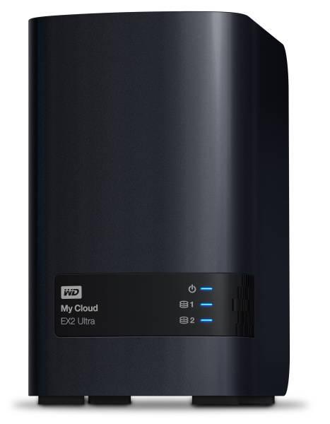 Datové uložiště (NAS) Western Digital My Cloud EX2 Ultra 8TB (WDBVBZ0080JCH-EESN) černé