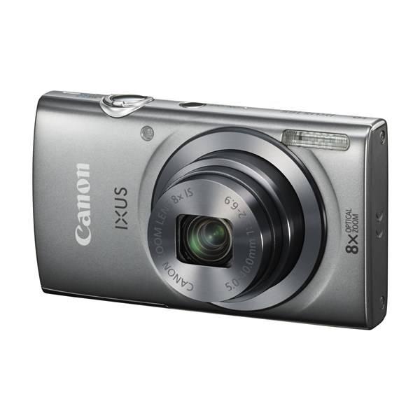 Digitální fotoaparát Canon IXUS 165 + 8GB SD karta + pouzdro stříbrný