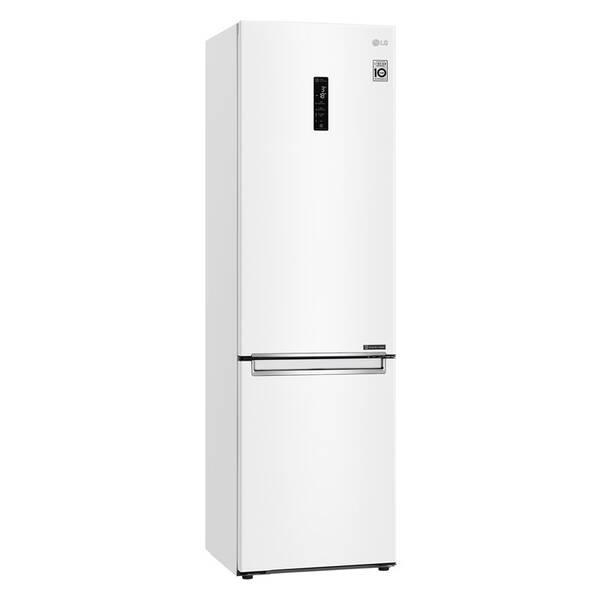 Kombinácia chladničky s mrazničkou LG GBB72SWUCN biela