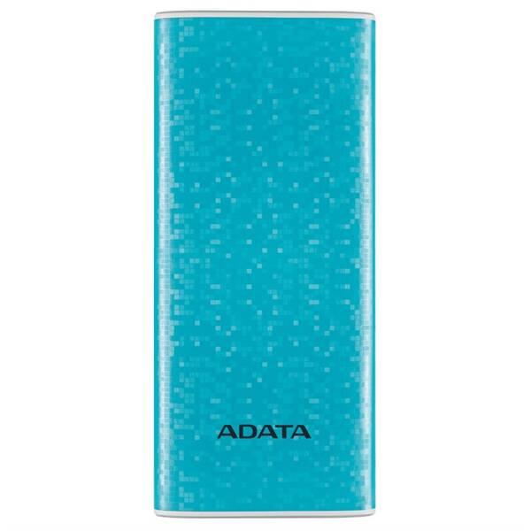 Powerbank ADATA P10000 10000mAh (AP10000-DUSB-CBL) modrá