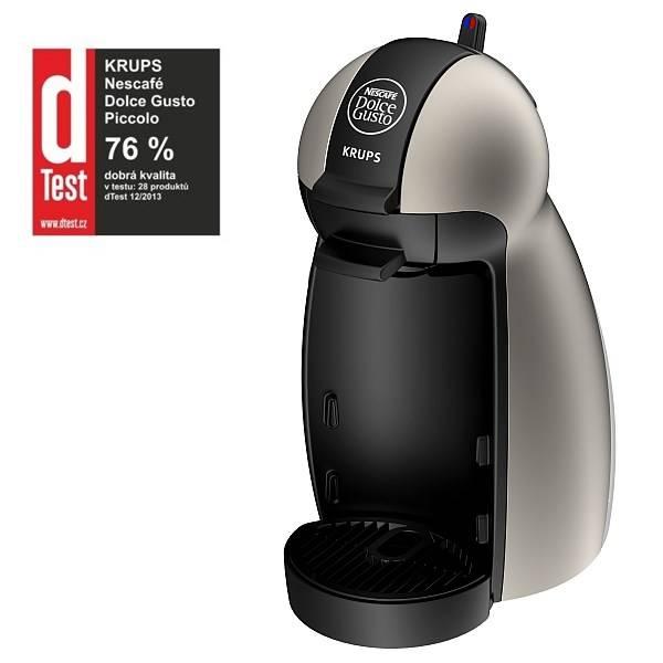 Espresso Krups NESCAFÉ® Dolce Gusto™ Piccolo KP1009 titanium