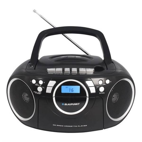 Radiomagnetofon s CD Blaupunkt BB16BK černý (vrácené zboží 8800096912)