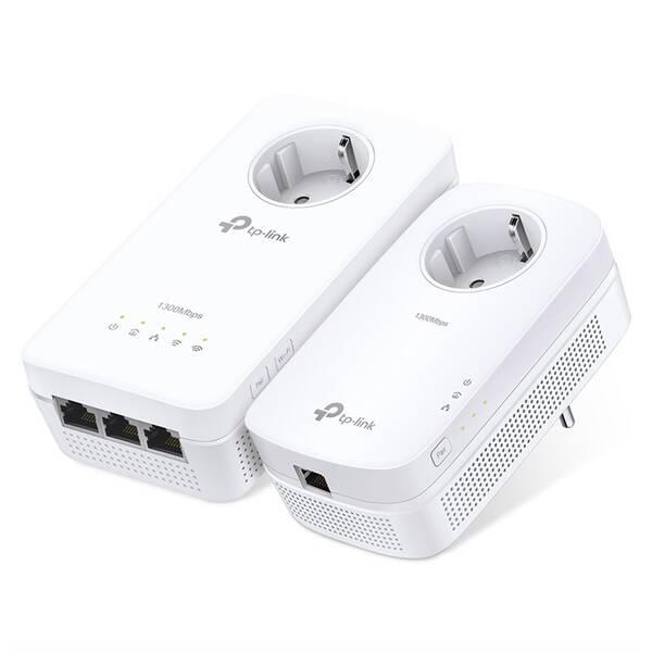 Síťový rozvod LAN po 230V TP-Link TL-WPA8630PKIT + IP TV na 1 měsíc ZDARMA (TL-WPA8630PKIT) bílý