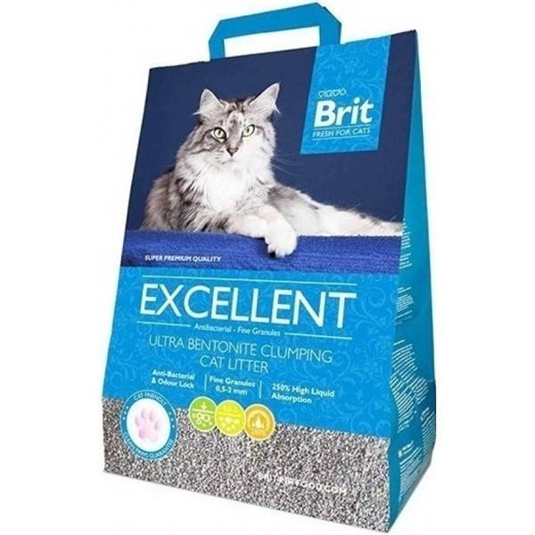 Podstielka Brit Fresh for Cats Excellent Ultra Bentonite 10 kg