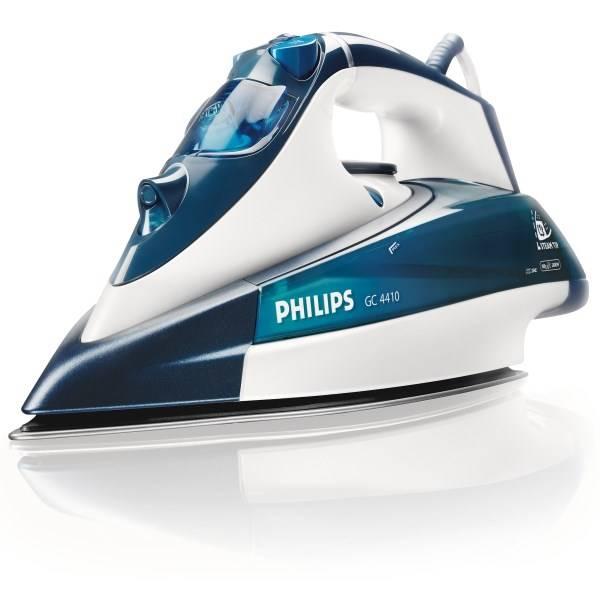 Žehlička Philips Azur GC4410/02 bílá/modrá