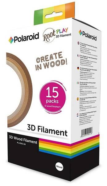 Náplň Polaroid pro ROOT Play 3D Pen, 3 odstíny dřeva (PL-2501-00)