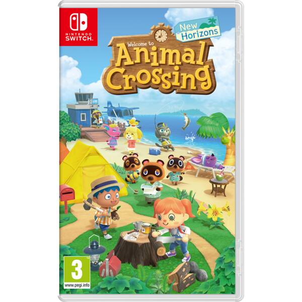 Hra Nintendo SWITCH Animal Crossing: New Horizons (NSS032)