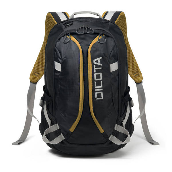 Batoh na notebook DICOTA Active pro 14-15,6'' (D31048) černý/žlutý