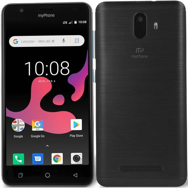 Mobilní telefon myPhone Fun 8 (TELMYAFUN8BK) černý