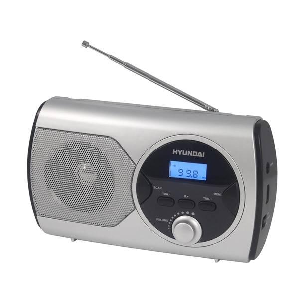 Rádioprijímač Hyundai PR 570PLLS strieborný