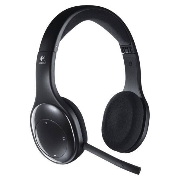 Headset Logitech Wireless H800 (981-000338) černý