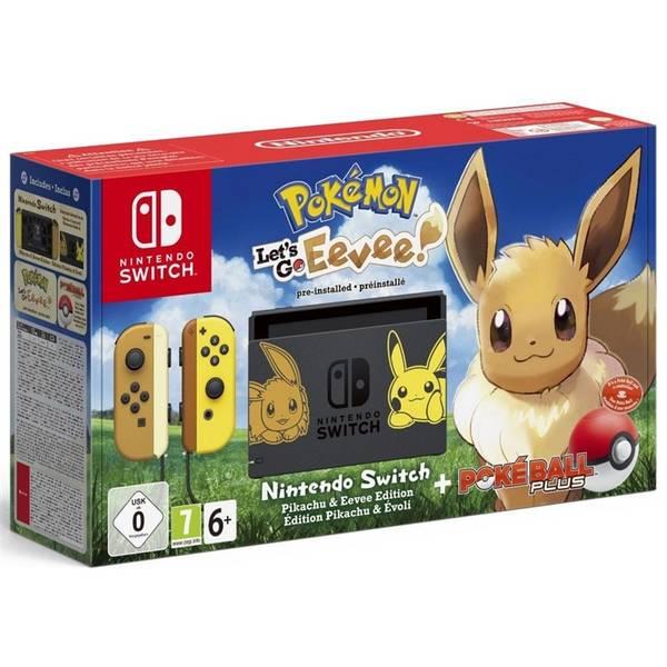 Herní konzole Nintendo SWITCH Pokémon: Let's Go Evee + Pokéball (NSH040)