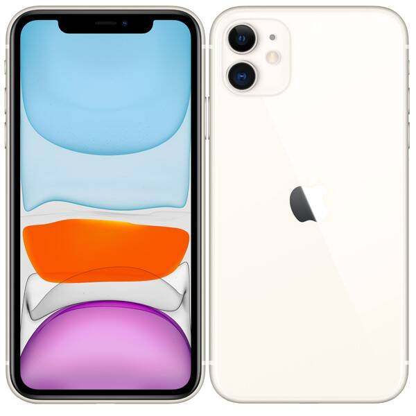 Mobilní telefon Apple iPhone 11 256 GB - White (MWM82CN/A)