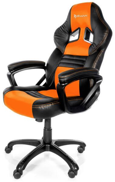 Herní židle Arozzi MONZA (MONZA-OR) černá/oranžová