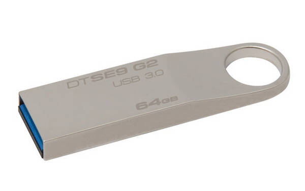 USB flash disk Kingston DataTraveler SE9 G2 64GB (DTSE9G2/64GB) kovový