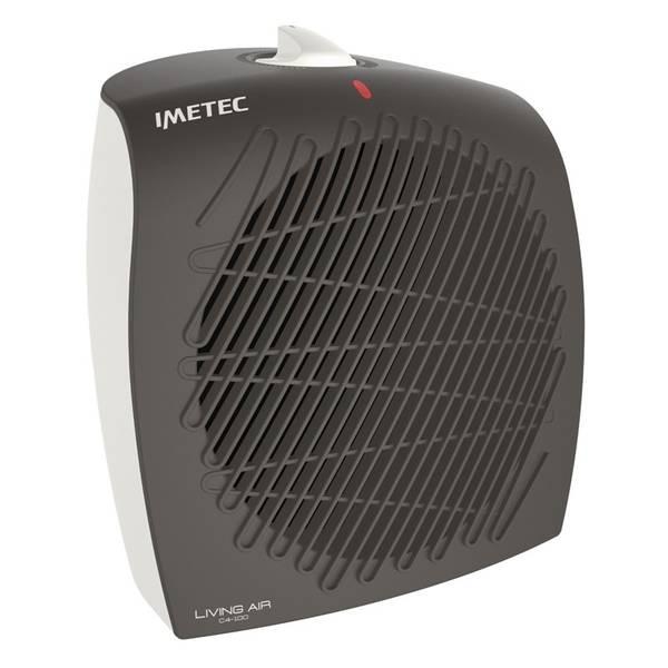 Teplovzdušný ventilátor Imetec 4017 C4 100 Living Air šedý/bílý