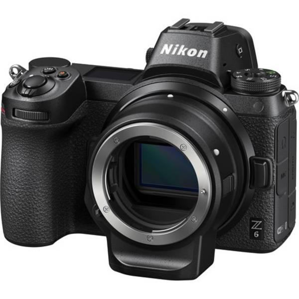 Digitální fotoaparát Nikon Z6 + adaptér bajonetu FTZ KIT (VOA020K002) černý
