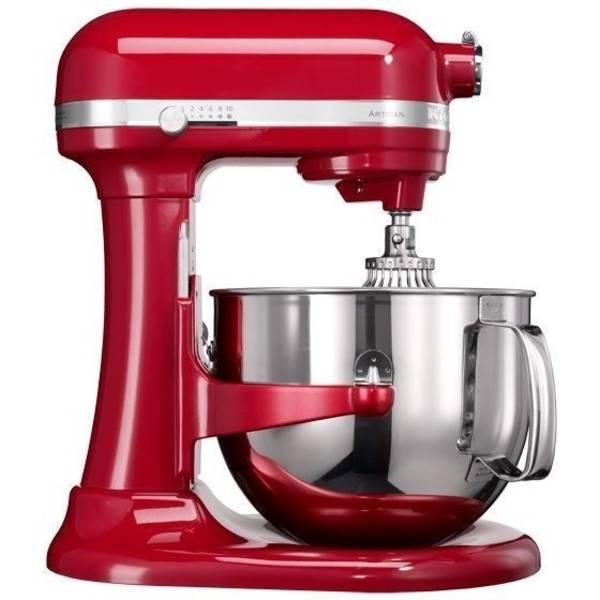 Kuchyňský robot KitchenAid Artisan 5KSM7580XEER červený