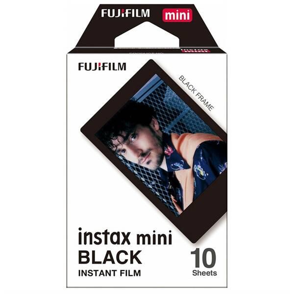 Instantní film Fujifilm Instax Mini Black Frame 10ks