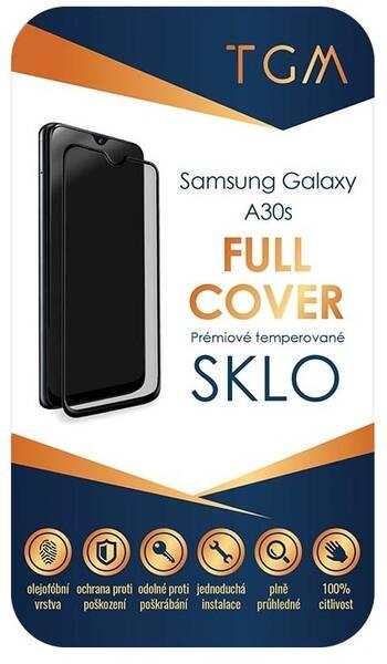 Ochranné sklo TGM Full Cover pro Samsung Galaxy A30s (TGMSAMA30S) černé