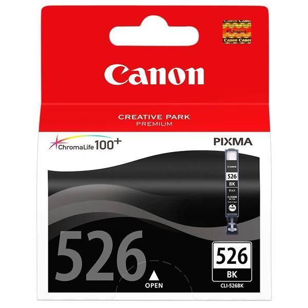 Cartridge Canon CLI-526Bk, 9ml  - originální (4540B001) čierna